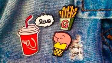 Значки на рюкзак или джинсовку